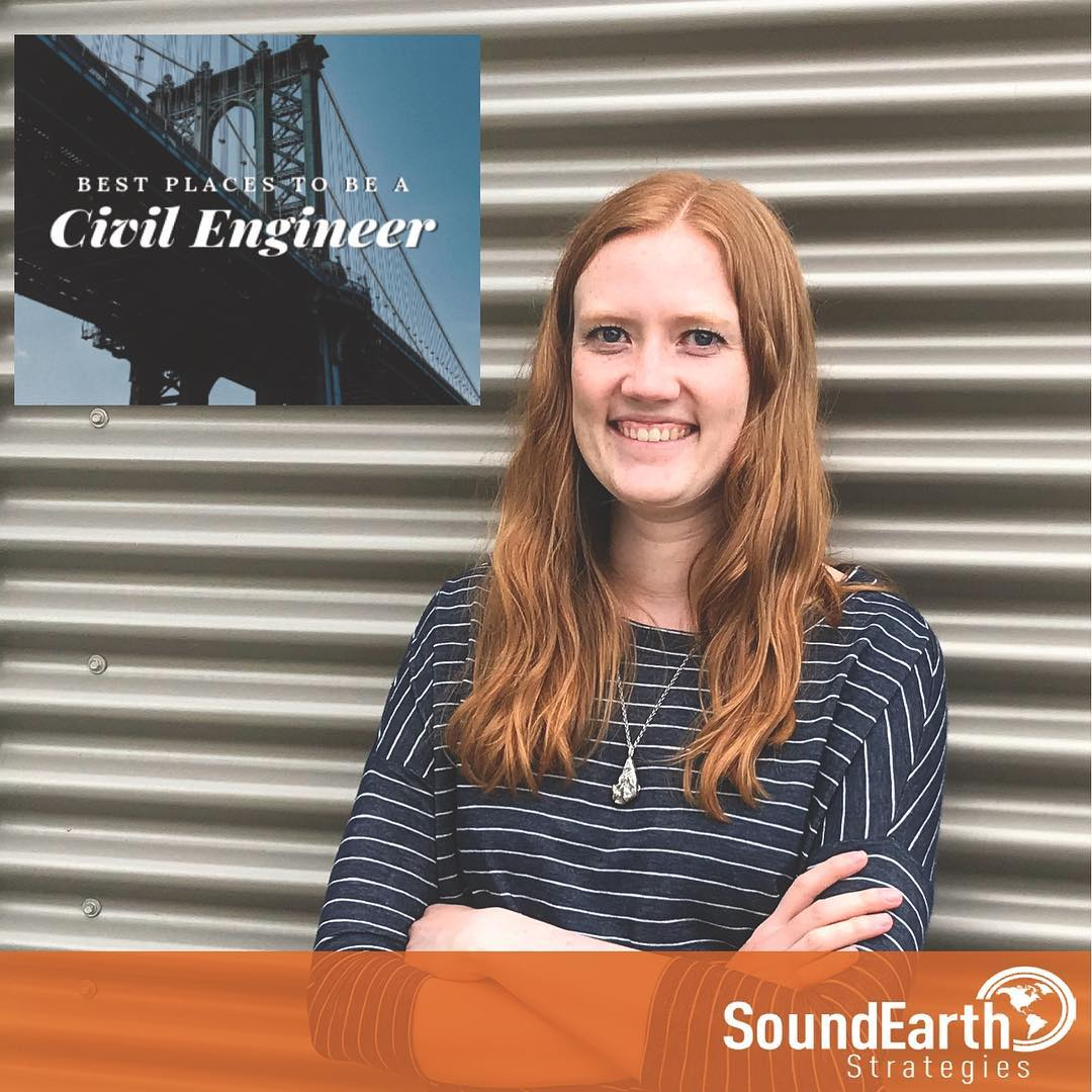 "Elyssa Dixon, PE Featured in ASCE's ""Best Places to be a Civil Engineer"""